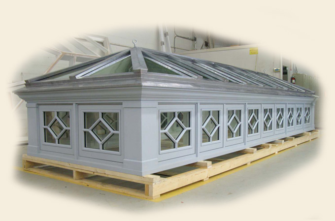 prefabricated roof