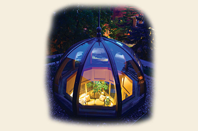 A Glass Dome by Renaissance Conservatories