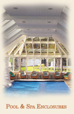 Pool Enclosures & Spa Enclosures